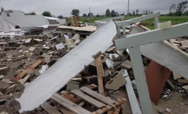 Un fuerte temporal castigó a Río Cuarto y el sur provincial cordobes