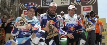 Despres, Patronelli, Peterhansel y De Rooy, los dueños del Dakar