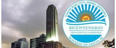Este lunes, la ciudad conmemora el Bicentenario de la Bandera
