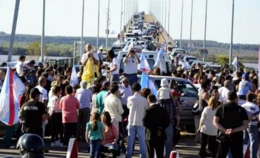 Gualeguaychú: los asambleístas vuelven a las rutas y piden un recargo extra para las compras argentinas en Uruguay