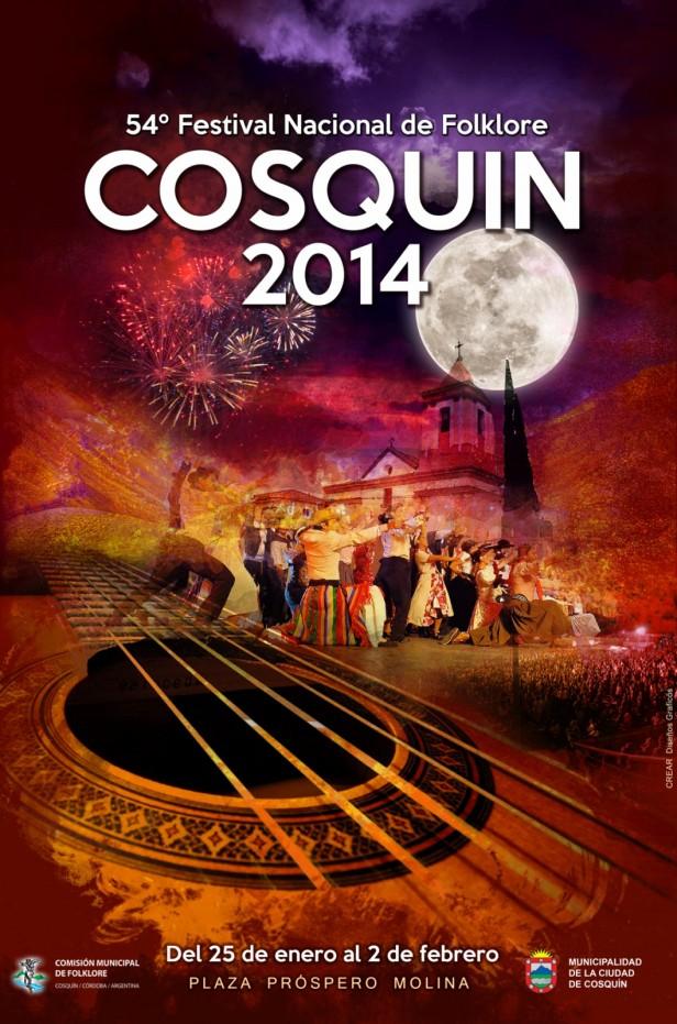 El Cosquín 2014 que arranca el 25 de Enero