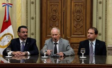 La provincia entregó aportes para videovigilancia a 42 localidades