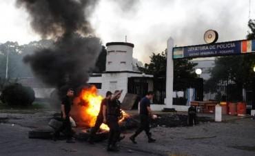 Imputaron al líder de Apropol por sedición durante la protesta policial