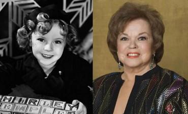 Falleció Shirley Temple, la niña dorada de Hollywood
