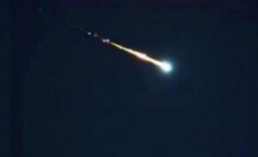 Un meteorito causó un fuerte estruendo en el centro santafesino