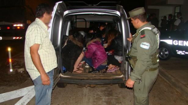 Rescataron en Corrientes a once chinos víctimas de tráfico ilegal