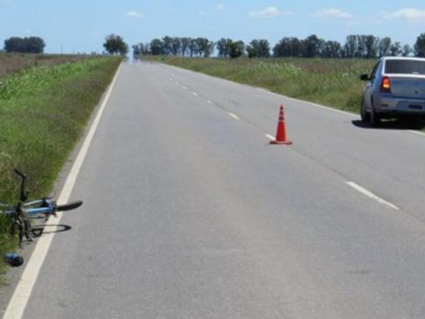 Buscan a un conductor que mató a un ciclista en Sastre y la abandonó en el lugar