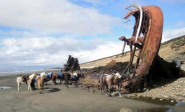 Sorprendente hallazgo en la costa de Tierra del Fuego: un barco español hundido desde 1765