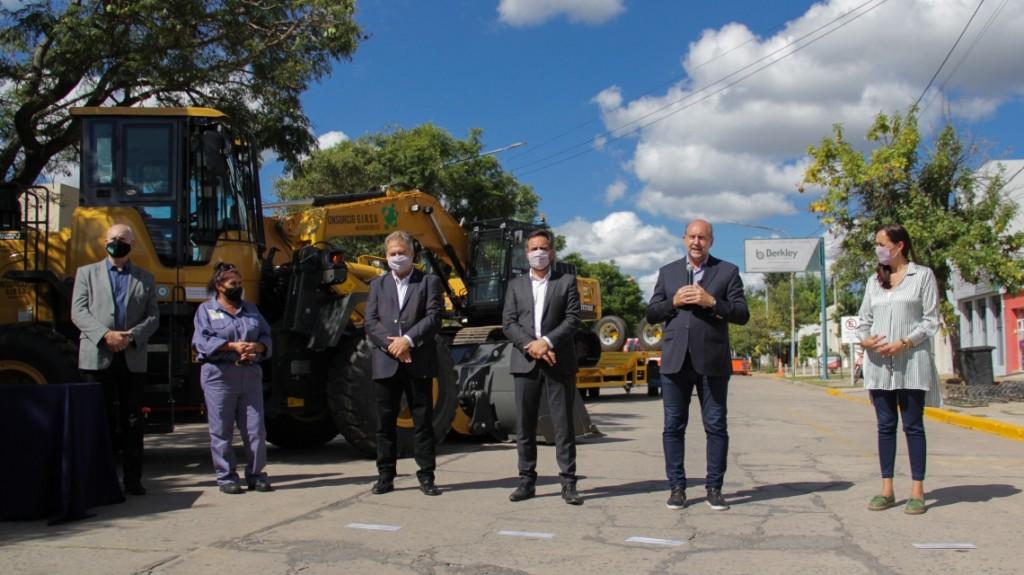 """""""Girsu Microregión 2D"""" se entregaron equipamiento para la gestión de residuos sólidos urbanos al Consorcio"""