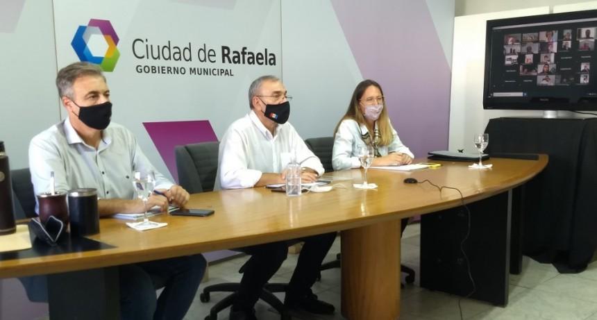 Ante la suba de casos se volvió a reunir el Comité de Emergencia del Departamento Castellano