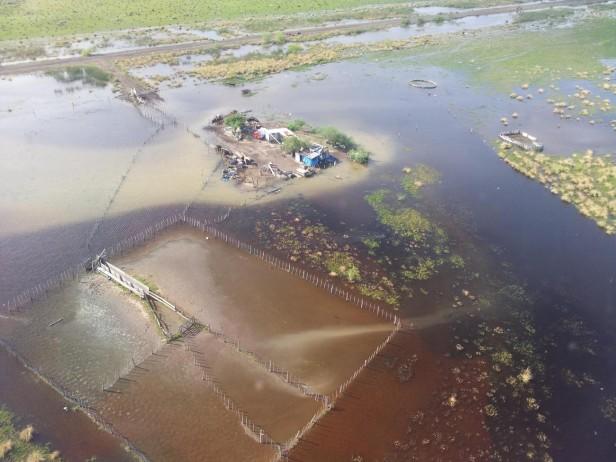 La provincia decretó la emergencia agropecuaria en cuatro localidades del departamento Castellano