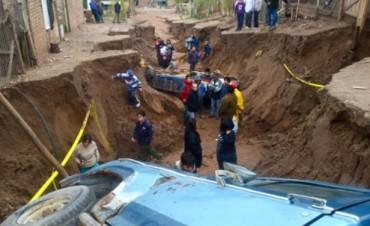 Daños, ríos desbordados y miles de evacuados por las intensas lluvias