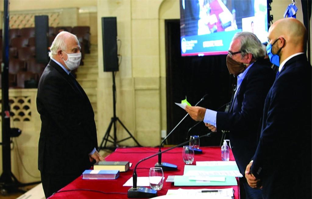 Por unanimidad, Miguel Lifschitz, fue elegido como presidente de la Cámara de Diputados de Santa Fe