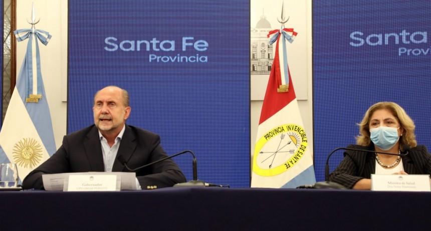 Perotti anunció medidas en el marco de la nueva modalidad de convivencia en pandemia