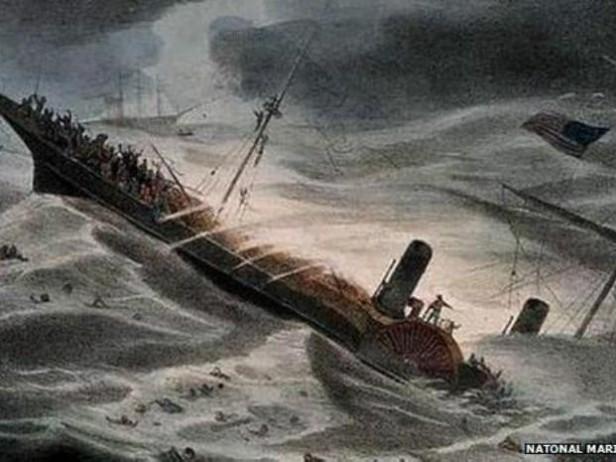 Rescataron oro de un barco que se hundió en 1857 a unos 250 kilómetros de la costa