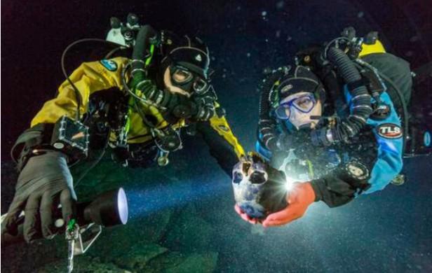Hallan en México el esqueleto humano más antiguo de América