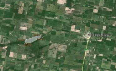 Calvo solicita expropiar tierras del departamento Castellano para evitar anegamientos  con lagunas de retardo