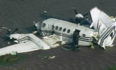Tragedia en el Río de la Plata: cinco muertos y cuatro heridos por la caída de una avioneta
