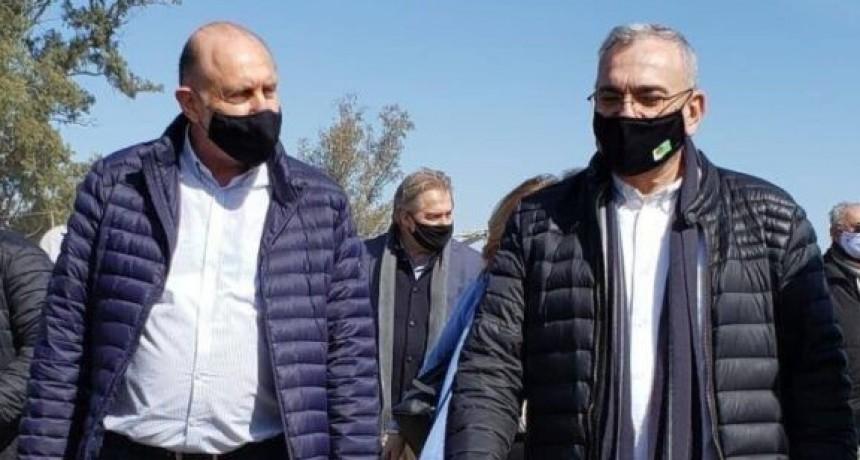 El gobierno provincial de Omar Perotti inaugura la obra de pavimentación entre San Vicente y Colonia margarita y licita otro tramo