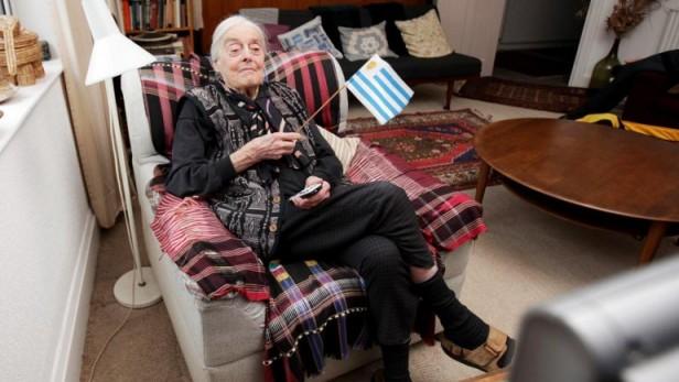 La mujer de 96 años que observó todas las ediciones del Mundial