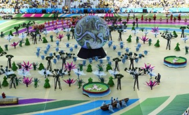 Ceremonia inaugural de Brasil 2014