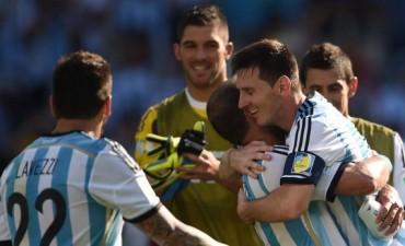 En un partido complicado, apareció Messi y la Argentina le ganó a Irán