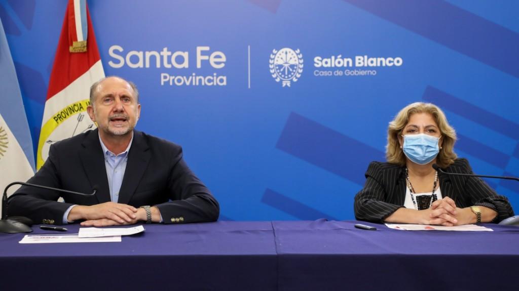 Perotti anunció la continuidad de las medidas de convivencia vigentes en la provincia en el marco de la pandemia