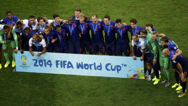Holanda se quedó con el bronce:
