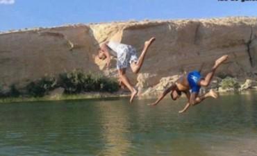 apareció un lago en medio del desierto de Túnez