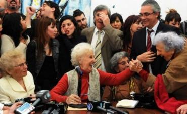 La emoción de Estela de Carlotto por la recuperación de su nieto: