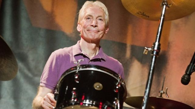 Murió el baterista de los Rolling Stones, Charlie Watts