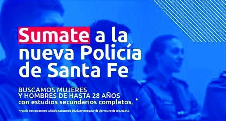 INSCRIPCIONES ABIERTAS A LA POLICÍA DE LA PROVINCIA DE SANTA FE