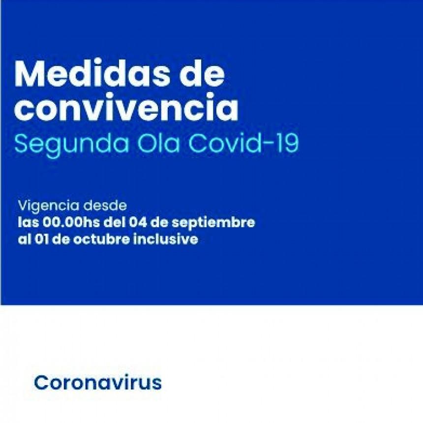 COVID-19: El gobierno provincial informó las nuevas medidas de convivencia