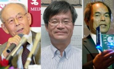 Premio Nobel de Física para los inventores de los LEDs: Isamu Akasaki, Hiroshi Amano y Shuji Nakamura
