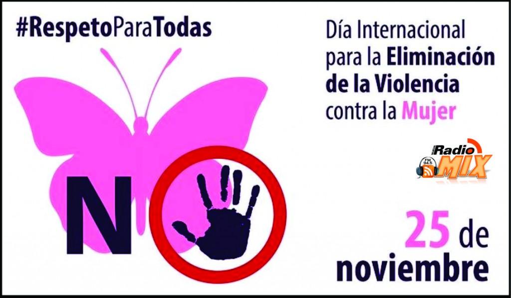 25 de Noviembre Día Internacional de la Eliminación de la Violencia contra la Mujer.