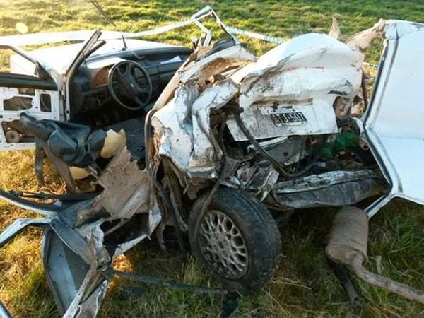 Tres muertos por un choque en Ruta 2, en medio del recambio turístico
