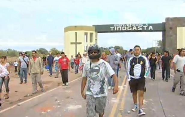 Los asambleístas de Tinogasta volvieron a cortar la ruta 60 para rechazar la megaminería