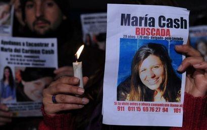 Ofrecen recompensa de 200 mil pesos para dar con el paradero de María Cash
