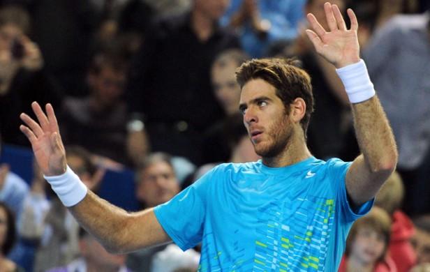 Del Potro venció a Tsonga y es finalista del ATP de Marsella