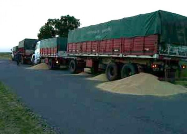 Se levantó el paro de los camiones cerealeros