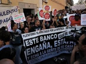 Récord de desalojos en España: 58 mil familias perdieron su casa en 2011