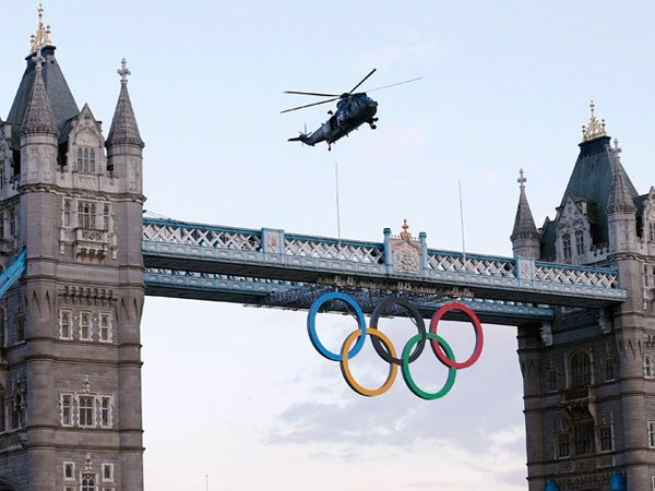 Todo listo para la fiesta de apertura de los Juegos Olímpicos de Londres