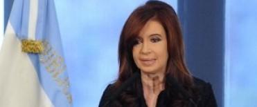 Cristina Kirchner agradeció