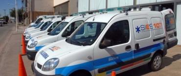 Seis ambulancias para la Región 2, una para Frontera