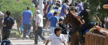 Incidentes en el inicio de la venta de entradas del Superclásico en Mendoza