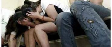 La Policía rescató a ocho mujeres del interior de un prostíbulo en El Trébol