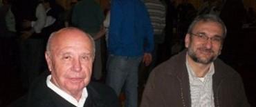 Calvo en los festejos patronales de Garibaldi.