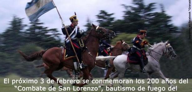 A 200 años del Combate de San Lorenzo
