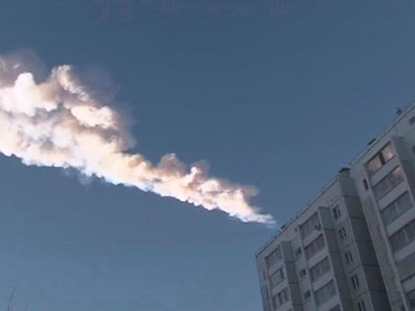 Pánico en Rusia por la caída de un meteorito