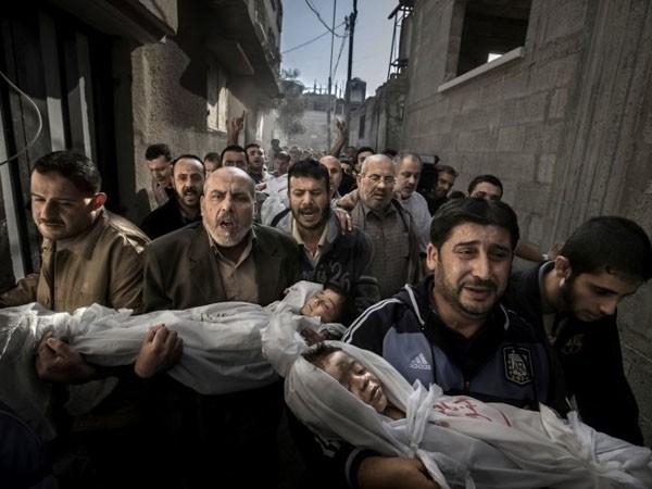 Un sueco ganó el World Press Photo con una imagen del dolor en Gaza